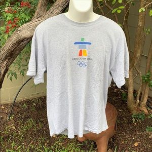 Men's Vancouver Olympics 2010 T-Shirt XL